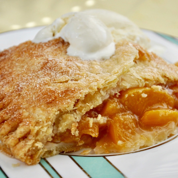 Fresh Peach Pie by Ken Haedrich, Dean of ThePieAcademy.com