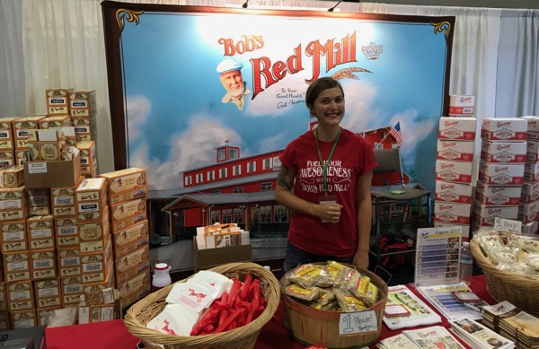Bob's Red Mill at The Mother Earth News Fair in Oregon