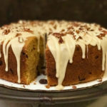 Sweet Potato Pound Cake with Maple Syrup Glaze