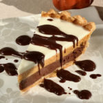 Triple Layer Pumpkin Chocolate Pie