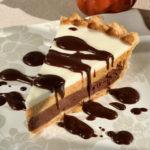 Triple Layer Pumpkin Chocolate Pie