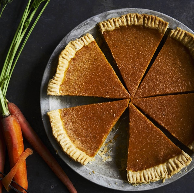 Sweet Carrot Pie from The Harvest Baker, by Ken Haedrich