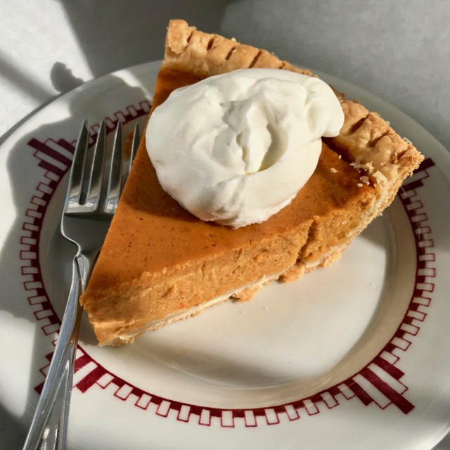Sweet Carrot Pie from The Harvest Baker by Ken Haedrich