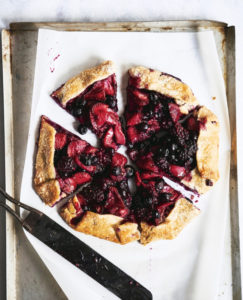 Three Berry Crostata from ThePieAcademy.com