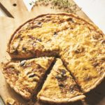 Spaghetti Squash and Parmesan Cheese Quiche