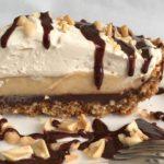 Black Bottom Peanut Butter Cream Pie