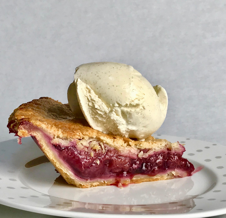 Freezer Fruit Pie at The Pie Academy.com