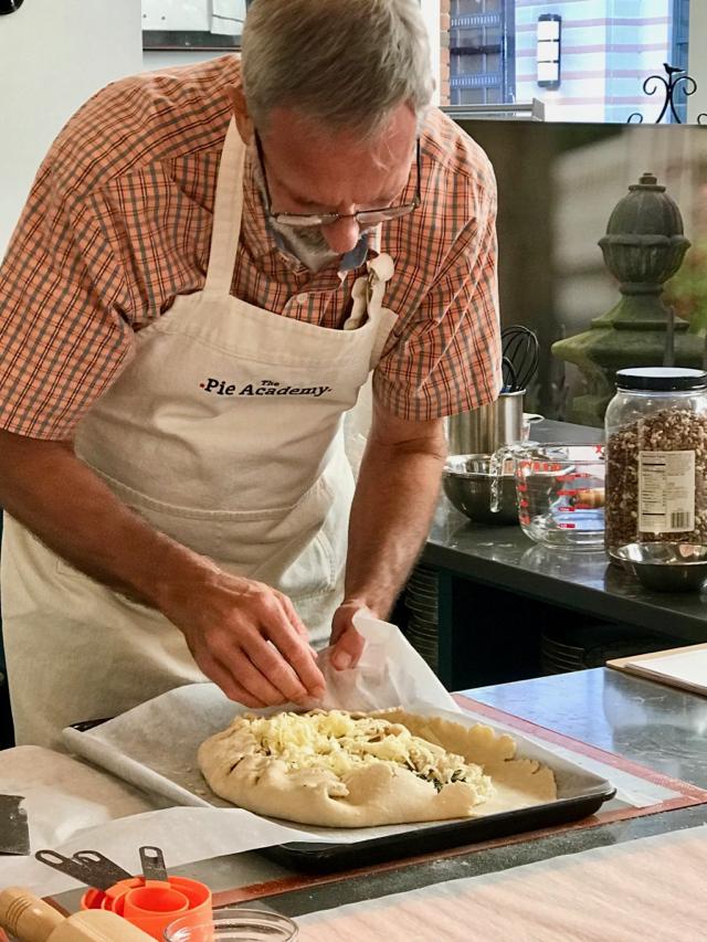 Ken Haedrich dean of The Pie Academy