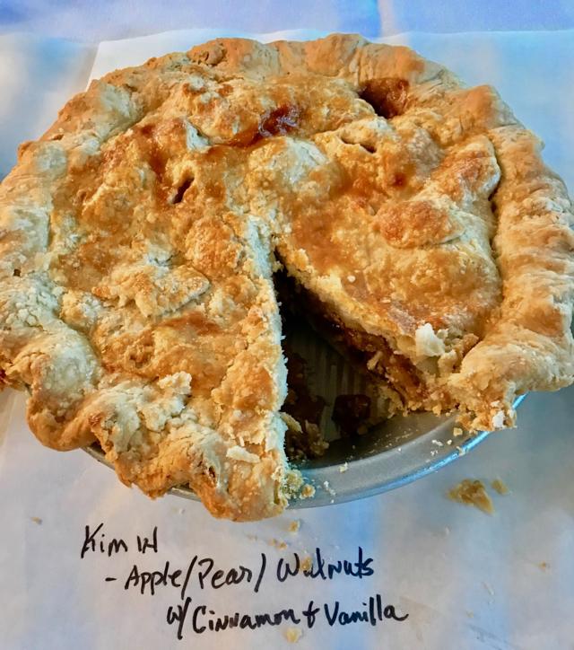 Courtesy Ken Haedrich dean of The Pie Academy