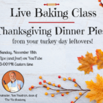 Live Baking Class this Sunday – and It's FREE