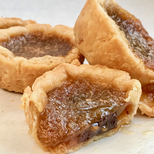 Canadian butter tarts courtesy Ken Haedrich dean of The Pie Academy