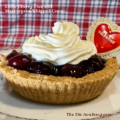 Little Cherry Pies with Mascarpone Whipped Cream