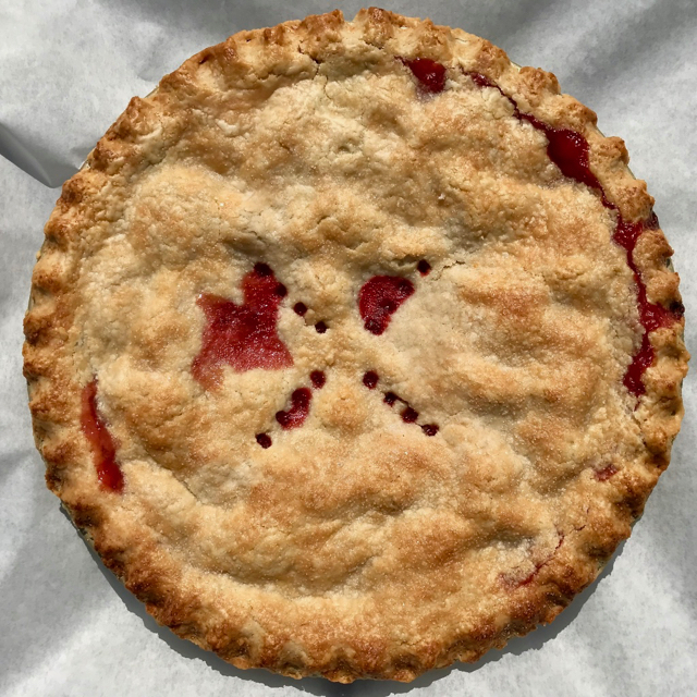 All-Strawberry Double-Crust Pie